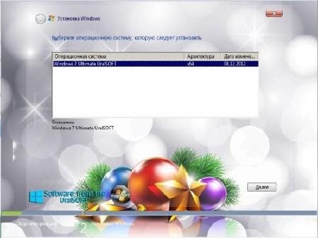 Windows 7 x64 Ultimate UralSOFT v.12.3.12