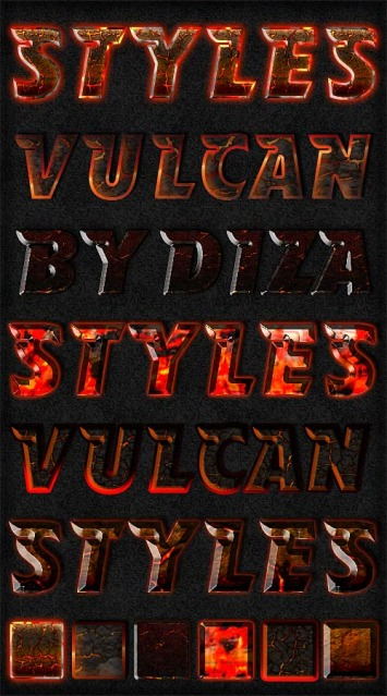 Vulcan Styles For Photoshop