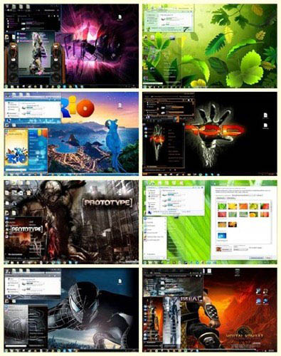 17 New Best Themes Windows 7 (2011)