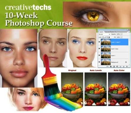 CreativeTechs 10 Həftə PhotoShop Vizual Təhsil Seti