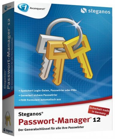 Steganos Password Manager 12.0.6 (Revision 9730)