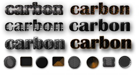 Carbon Styles for Photoshop