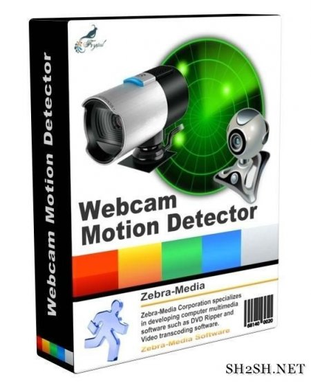 Zebra Webcam Motion Detector 2.2