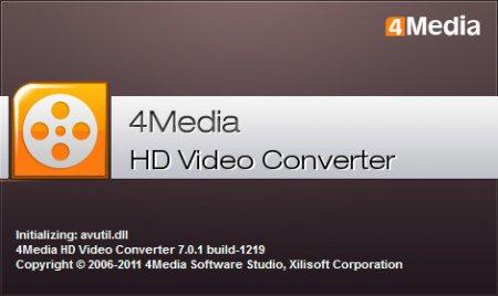 4Media HD Video Converter 6.7.0.0913