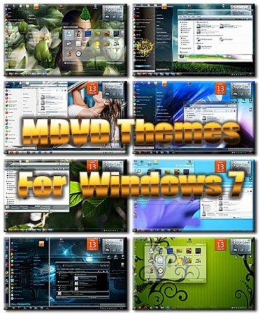 MDVD Themes Pack For Se7en (2011)