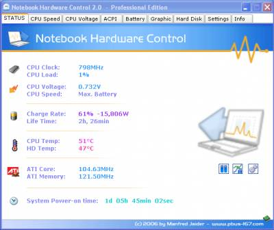 Notebook Hardware Control Pro 2.0.6 Portable