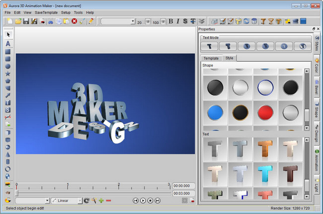 Aurora 3d animation maker proqramlar 3d animation maker
