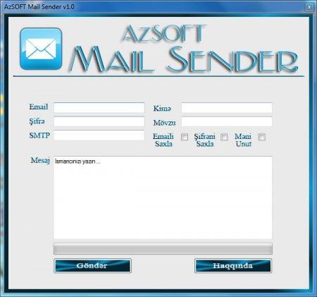 AzSOFT Mail Sender v1.0