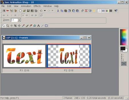 Jasc Animation Shop 3.11
