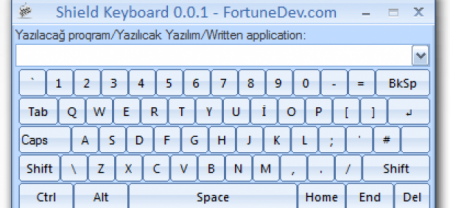 Shield Keyboard 0.0.1 - Relased!