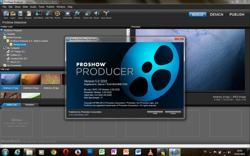 Slide show software Proshow Gold Windows. . Windows 98; Windows Me; Window