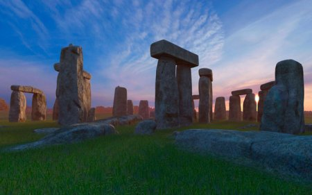 Stonehenge 3D Screensaver and Animated Wallpaper 1.0 Build 1