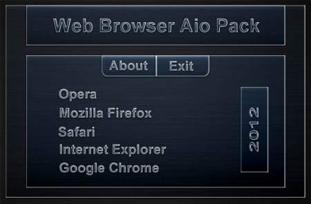 Web Browser AIO Pack