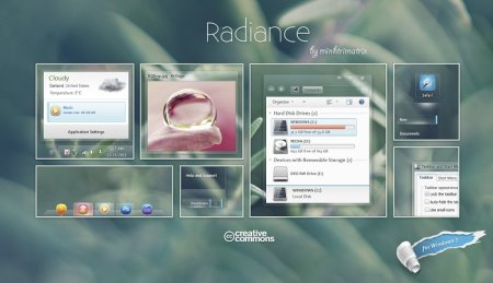 Radiance Windows 7 Theme