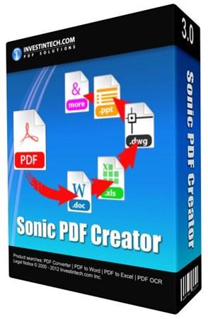 Sonic PDF Creator 3.0.4.0