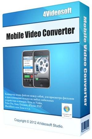 4Videosoft Mobile Video Converter 5.0.8