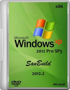 Windows XP Pro SP3 SanBuild 2012.2 (2012)
