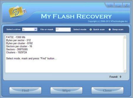 NTechnologies My Flash Recovery 2.2