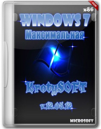 Windows 7 x86 Ultimate KrotySOFT v.12.05.12