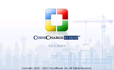 CodeCharge Studio 5.0.0.16254