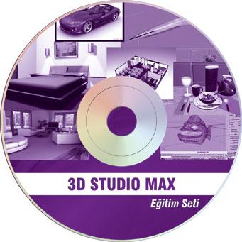 3D Studio Max Tətbiqli Vizual Təhsil - CD