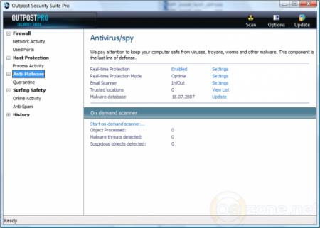 Outpost Security Suite Pro 7.5.3 3942.608.1810.488 Final x86