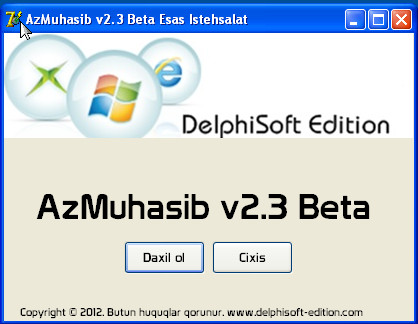 AzMuhasib v2.3 Beta Əsas İstehsalat