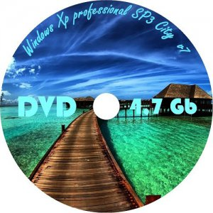Windows XP Professional SP3 City 7 x86 (2012)