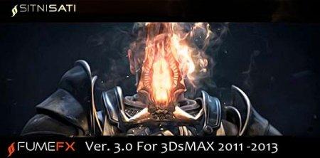 FumeFX 3.0 for 3DsMax 2013, 2012, 2011
