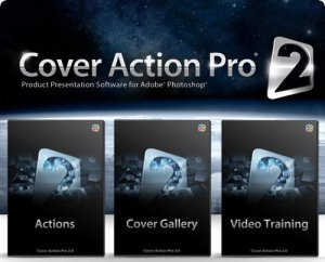 Cover Action Pro 2 Actions for Photoshop + Qurulma qaydası