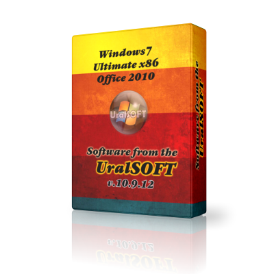Windows 7 x86 Ultimate UralSOFT 10.9.12 (2012)