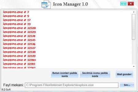 Icon Manager 1.0 (R.D Soft)