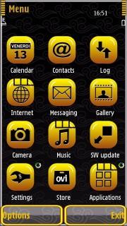 Symbian 9.4 platformasında olan Nokia  telefonları üçün mövzular. [59 ədəd]
