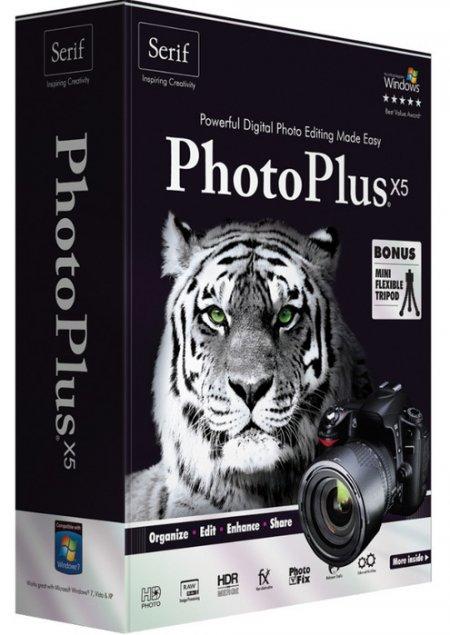 Serif PhotoPlus X5 15.0.100.54