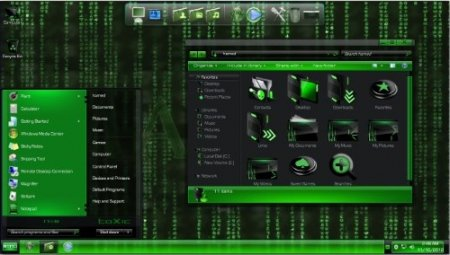 Matrix Skin Pack v1.0 for Windows 7 (x86/x64)