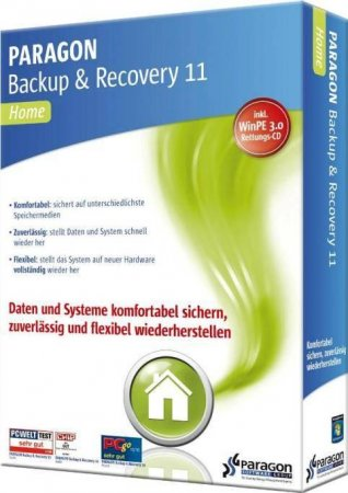 Paragon Backup & Recovery 14 Home  RePack