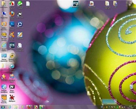 Windows 7 üçün Yeni İl mövzuları